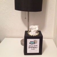 DIY TIssue Box Cover with BLING!
