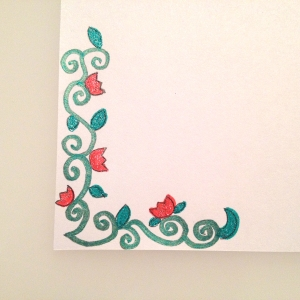 Corner envelope illustration