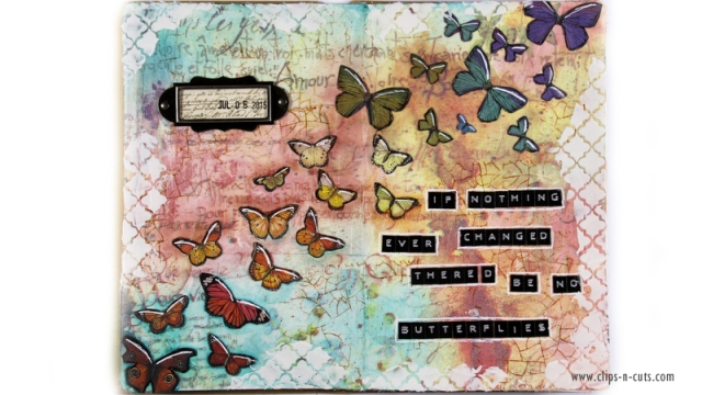 Art Journal page by Vicky P.
