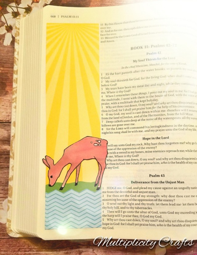 As the Deer Panteth Bible Journal