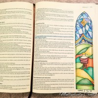 Bible Art Journal: The Nativity