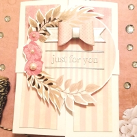 Crafter's Castle Video Hop Giveaway Ft. AMB Illustrations Gatefold Card!