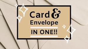 Card n Envelope in one TN